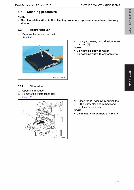 Bizhub C220 C280 C360 reset tool